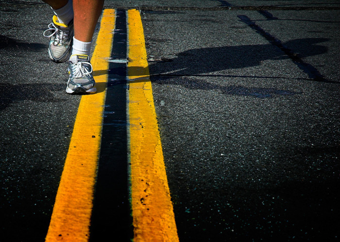 marathon yellow