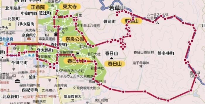 20140914_奈良・トレイルランコース